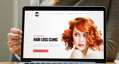 New Hair Clinic Website Launch