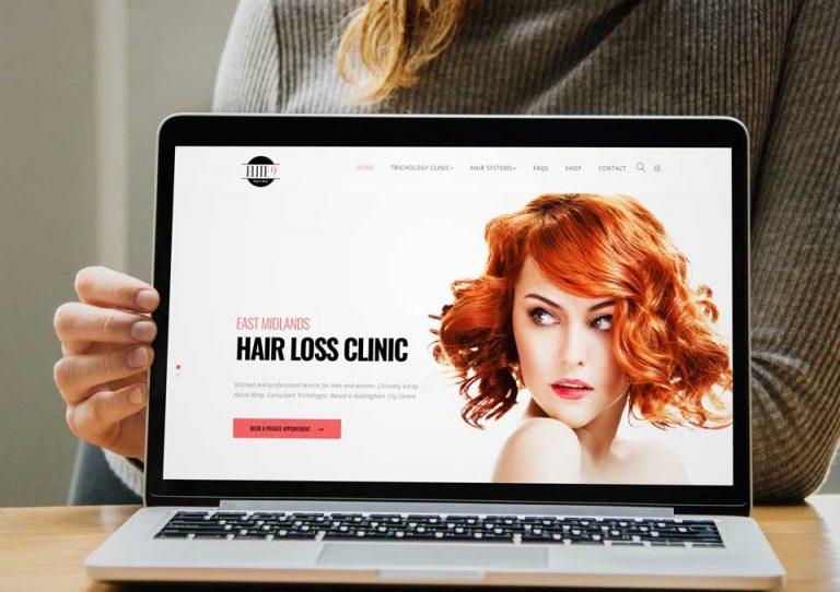 New Hair Clinic Website Launch