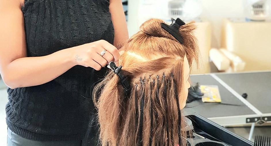 Micro Ring Hair Training